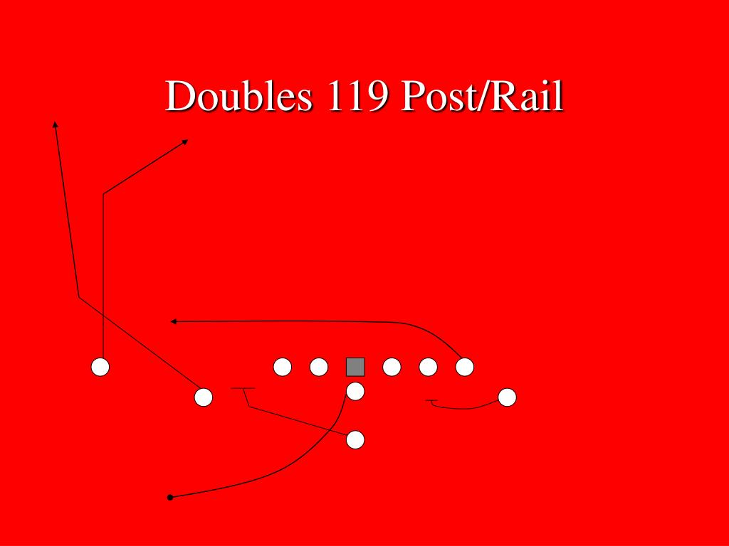 Doubles 119 Post/Rail