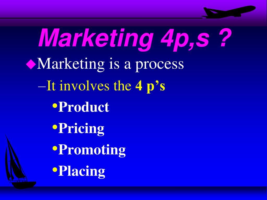 Marketing 4p,s ?