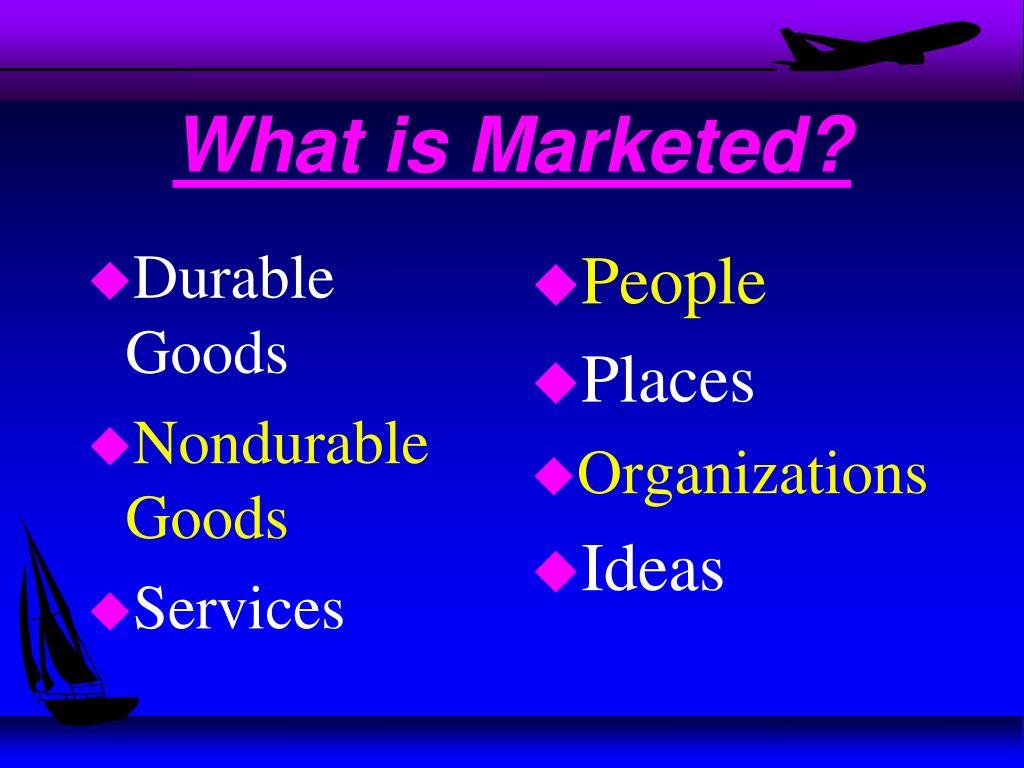 Durable Goods