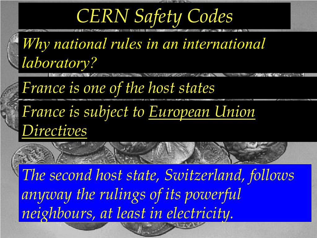CERN Safety Codes