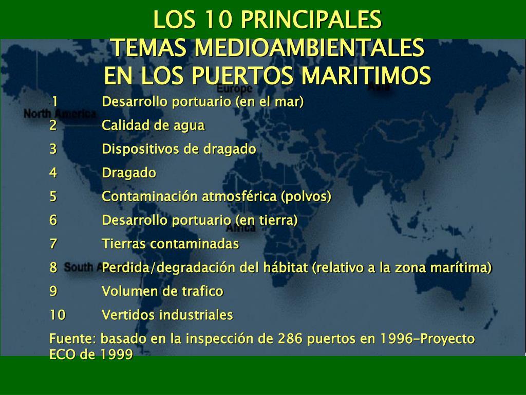 LOS 10 PRINCIPALES