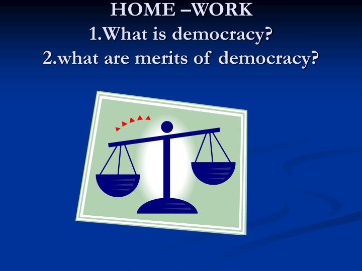 PPT - What Is Democrac...