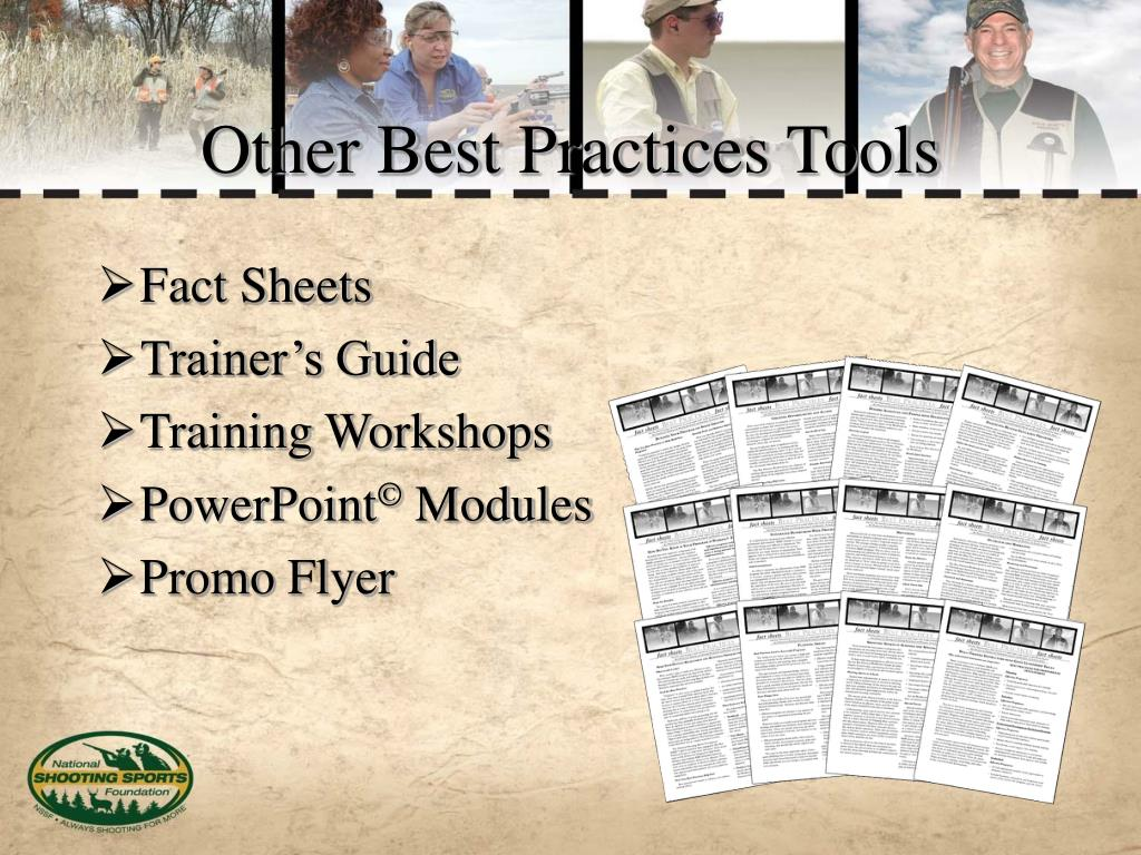 Other Best Practices Tools