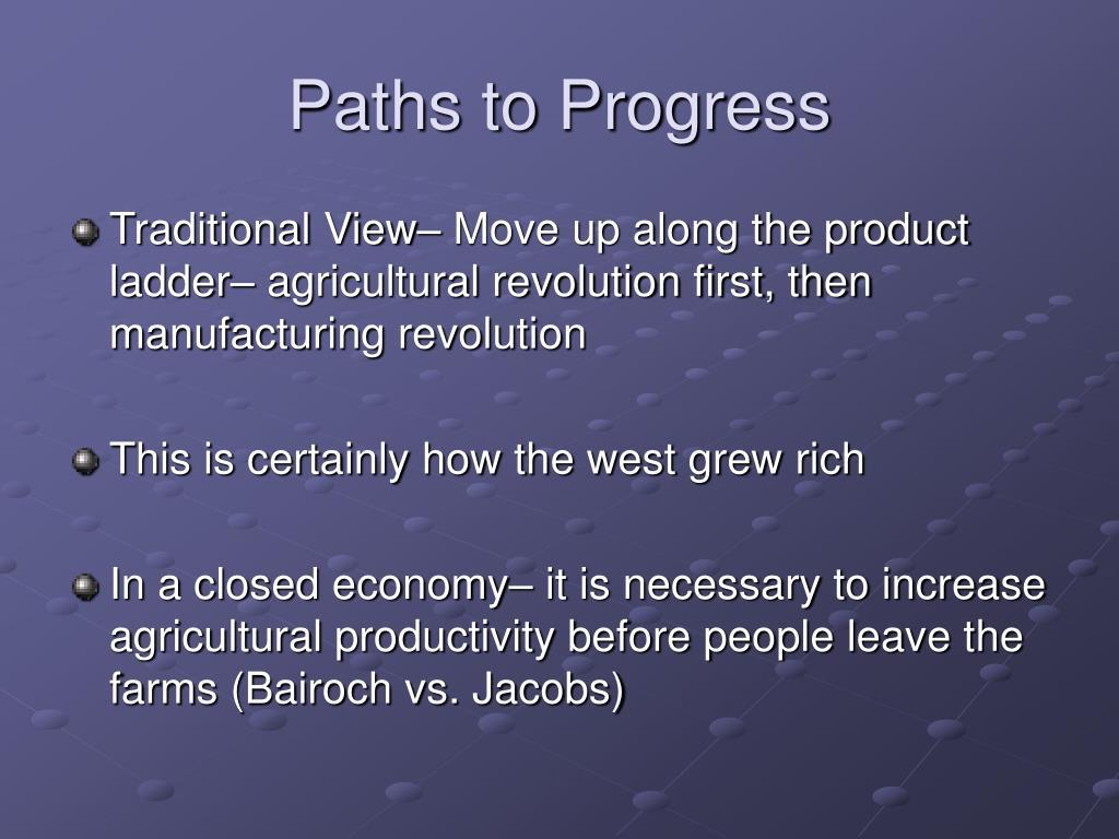 Paths to Progress