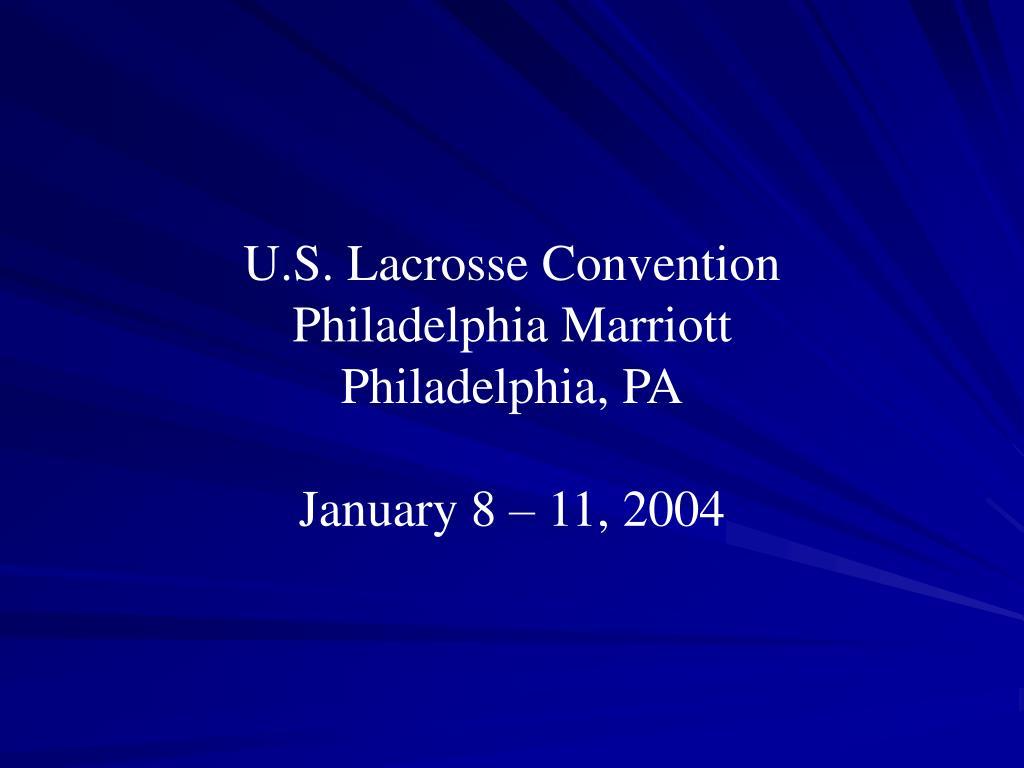 U.S. Lacrosse Convention