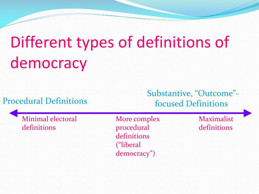 Procedural Definitions