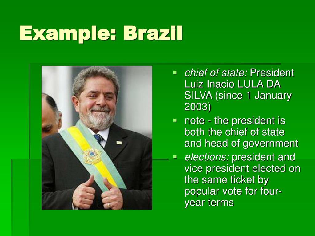 Example: Brazil