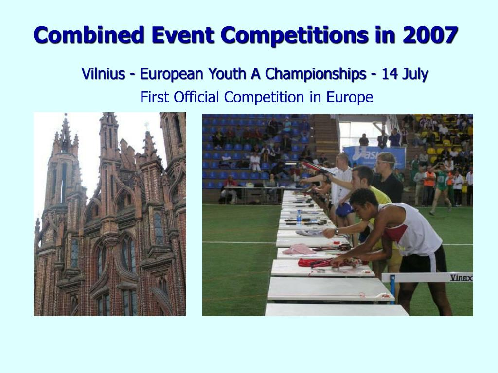 Combined Event Competitions in 2007