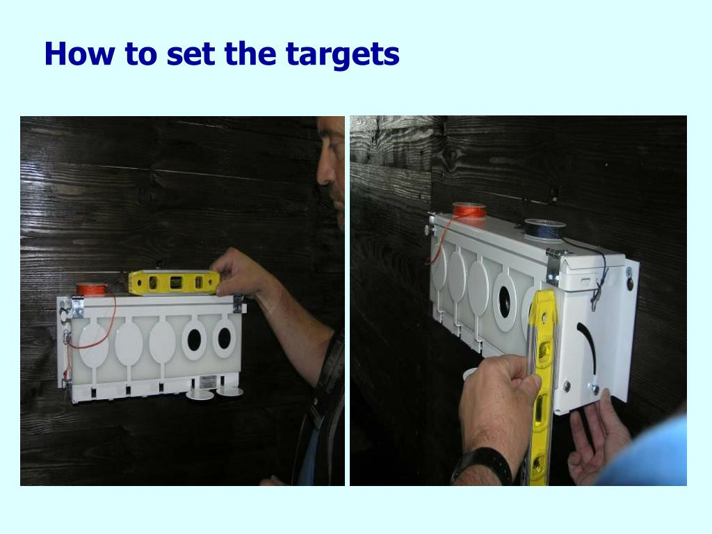 How to set the targets