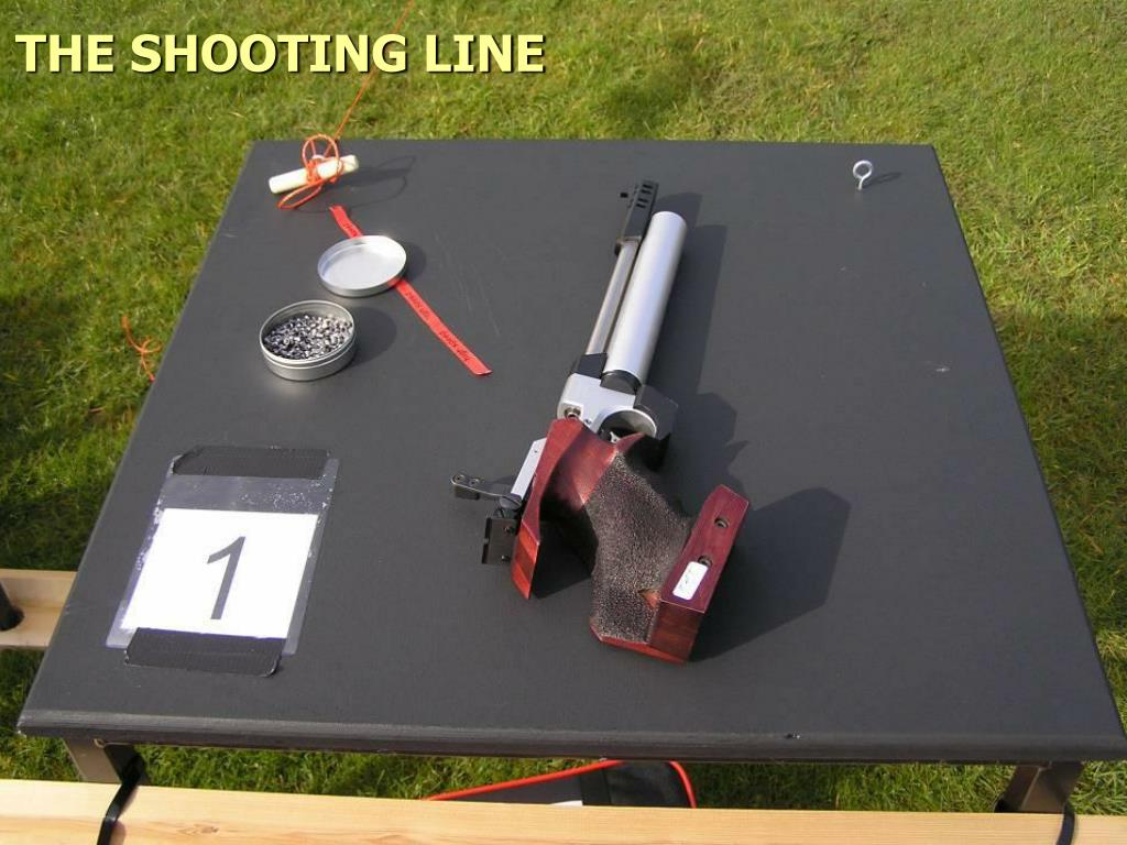 THE SHOOTING LINE