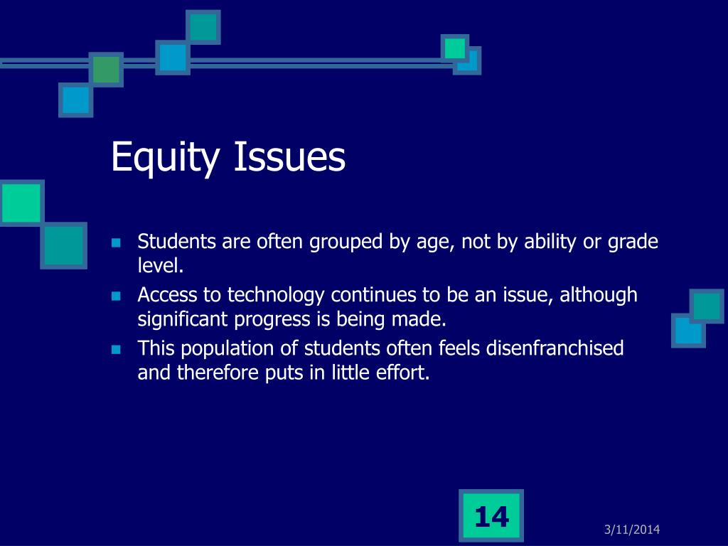 Equity Issues
