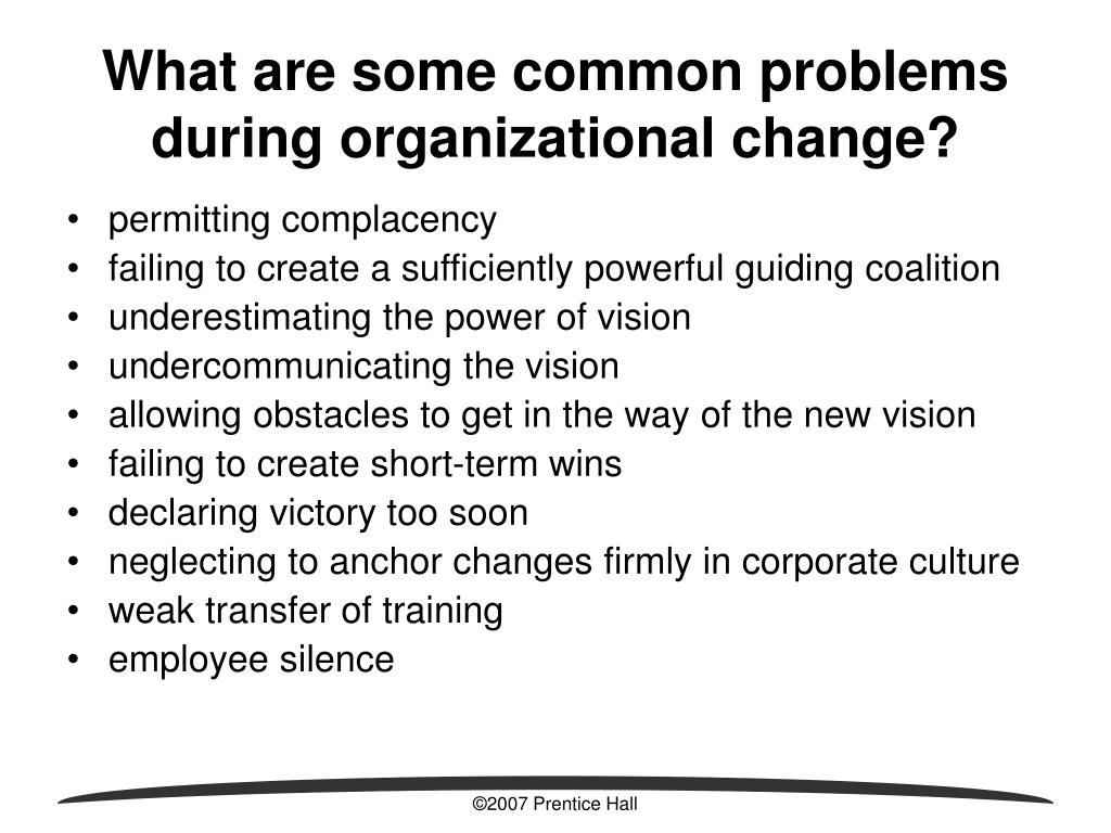 the issues of organizational behavior problems Understanding issues in organizational behavior the understanding issues in organizational behavior simulation involved the human resource manager finding resolutions to the recent escalated.