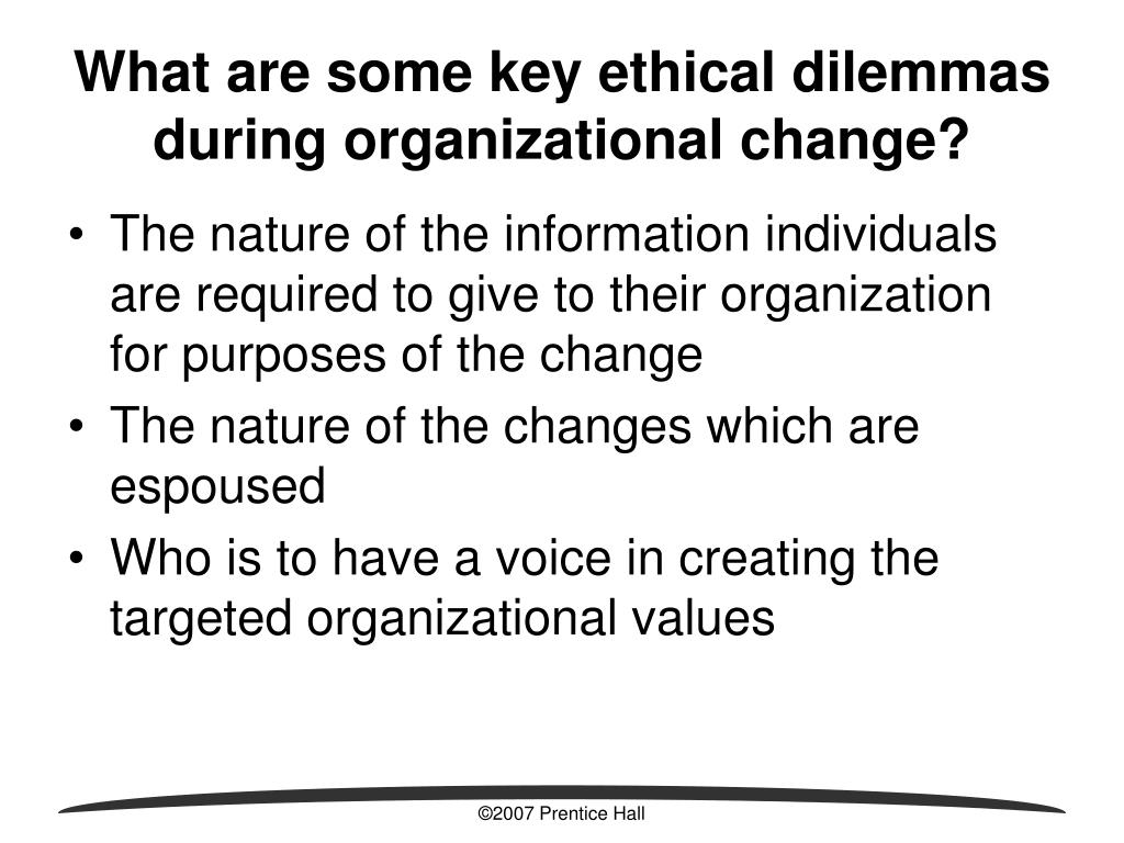 ethical dilemmas in organizational communication Resolving ethical dilemmas in the workplace: a new focus for career development eric digest no 112 the changing nature of the workplace is propelling ethics.