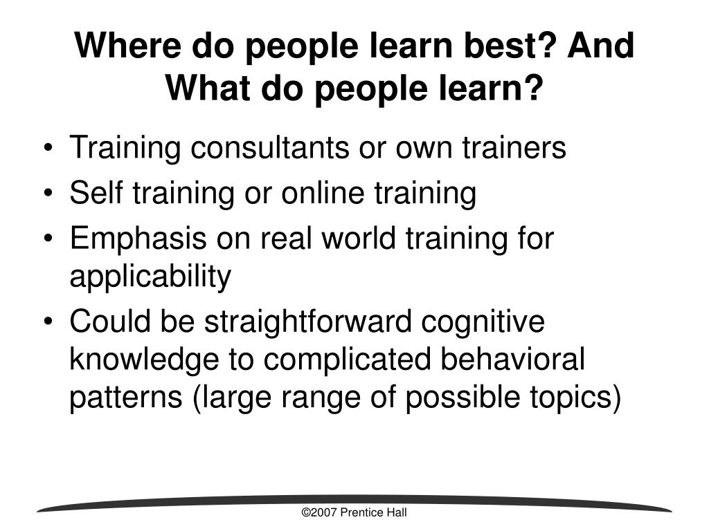 How do older adults learn best seems me