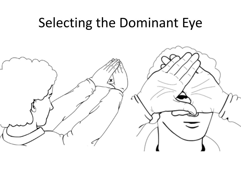 Selecting the Dominant Eye