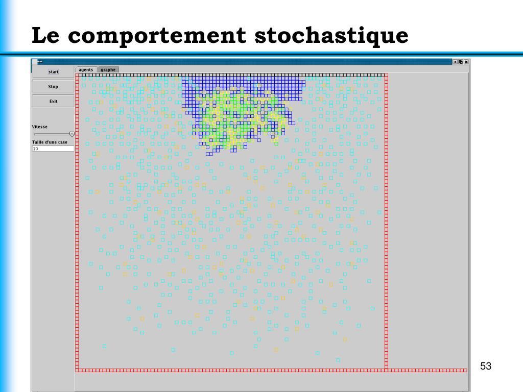 Le comportement stochastique