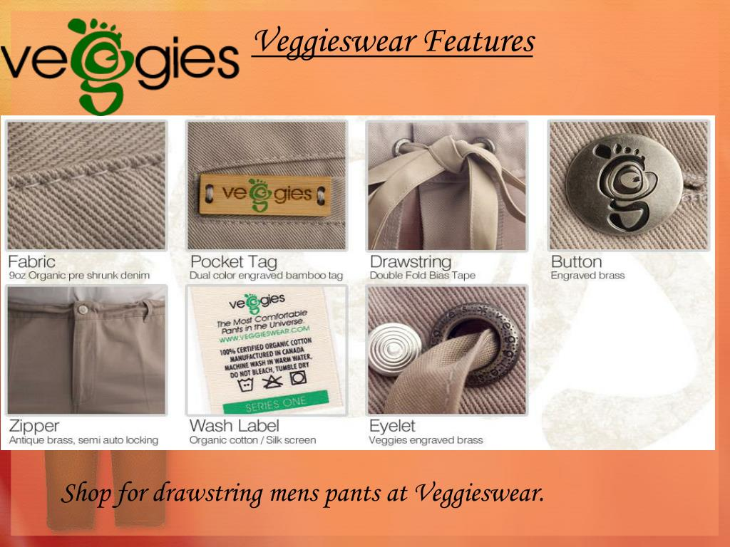 Veggieswear Features