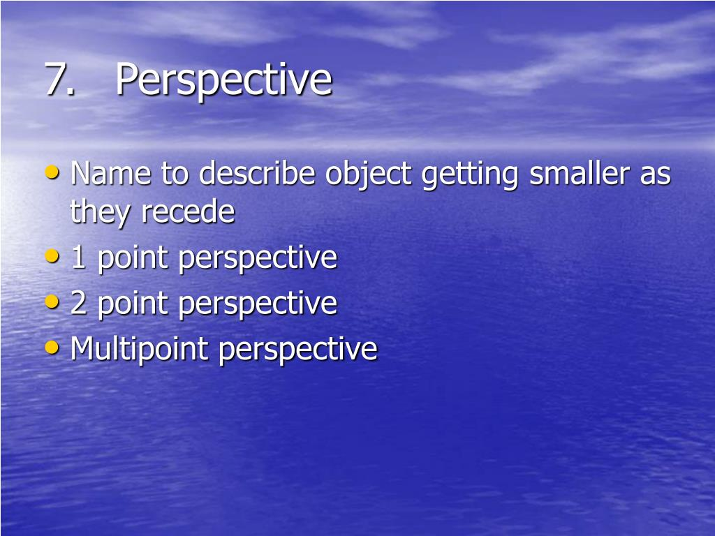 7.Perspective