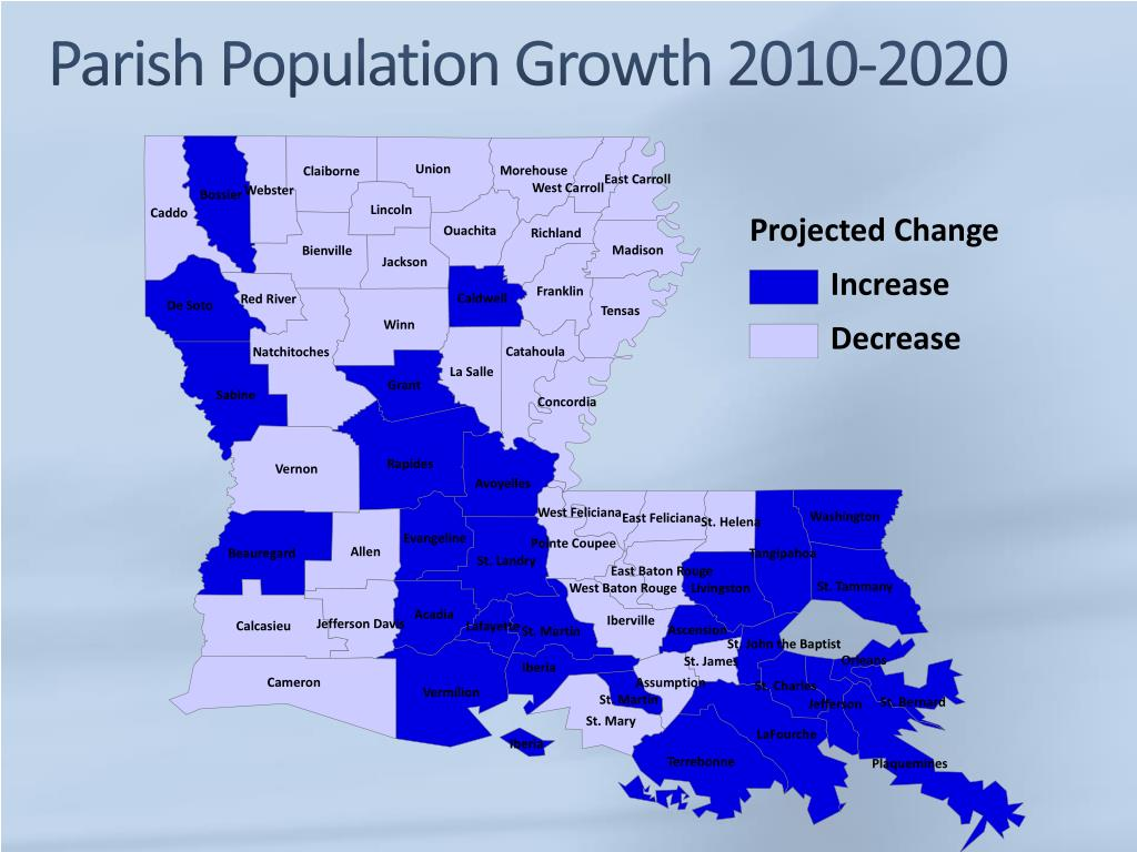 Post-Katrina New Orleans Smaller, But Population Growth