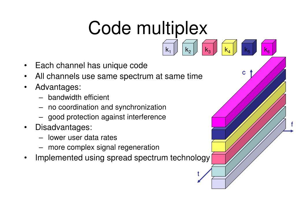 Code multiplex