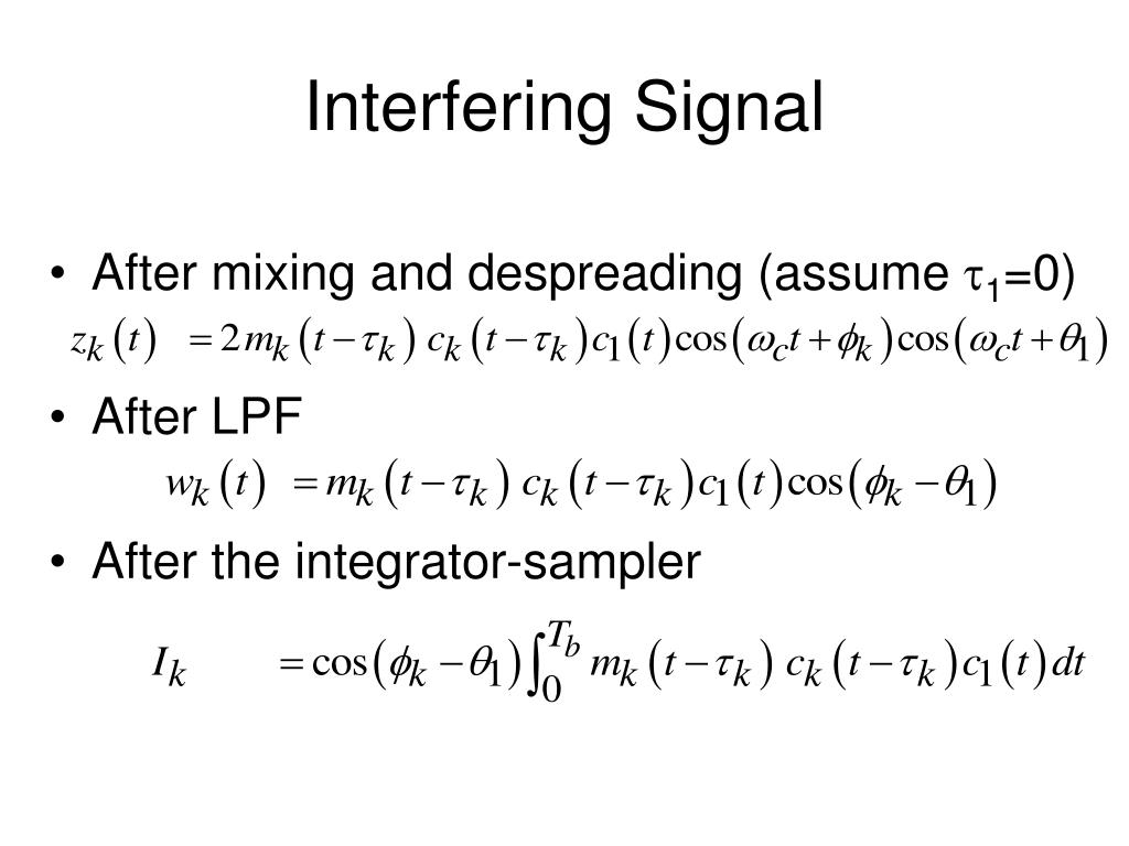 Interfering Signal