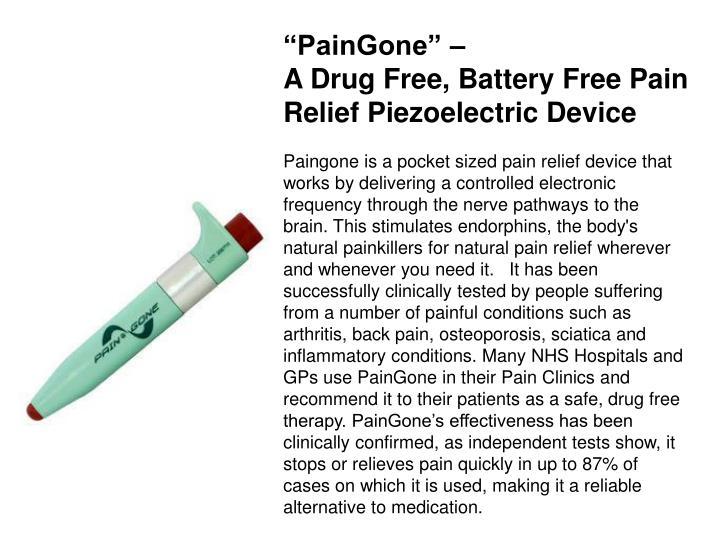 """PainGone"" –"