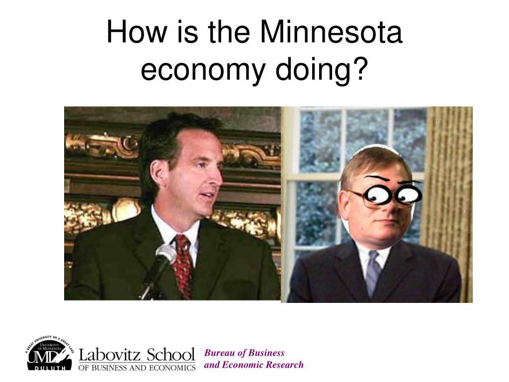 How is the Minnesota economy doing?