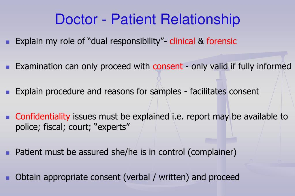 essay on doctor patient relationship The doctor-patient relationship has been defined differently through the years in the beginning it developed into a common calling which meant.