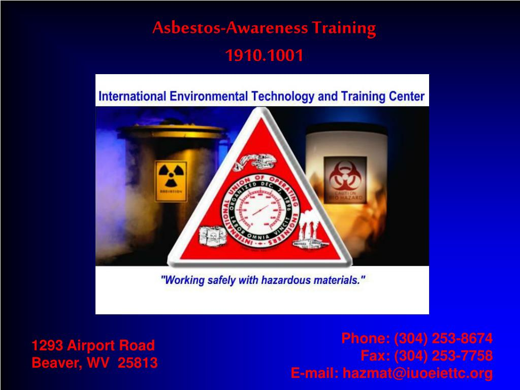 Asbestos-Awareness Training