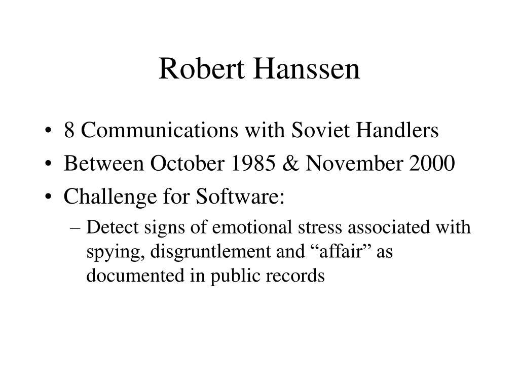 Robert Hanssen