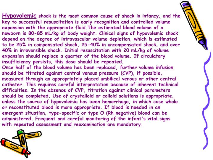 Hypovolemic