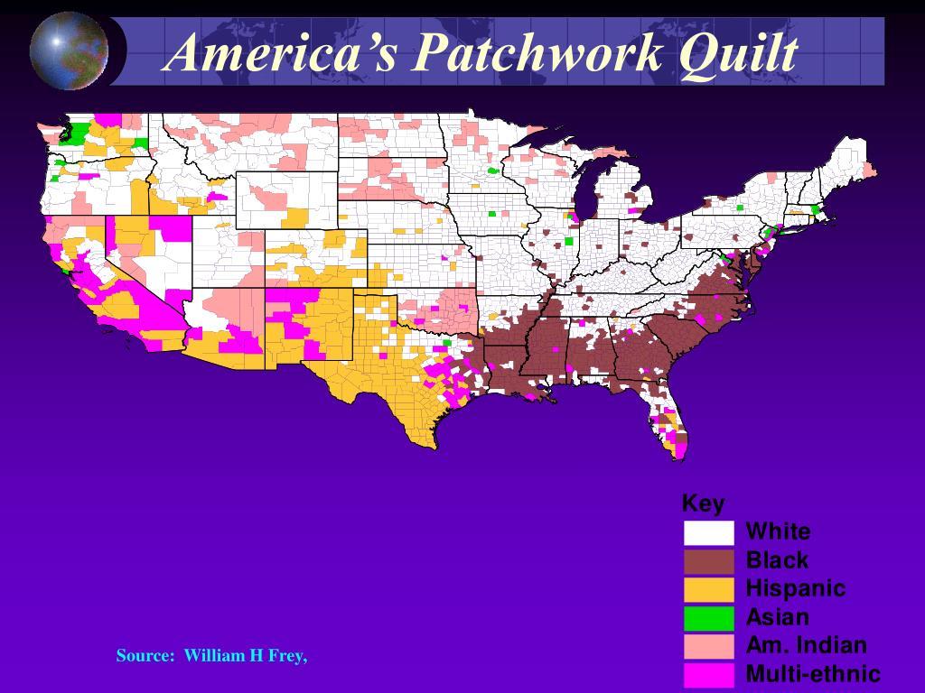 America's Patchwork Quilt