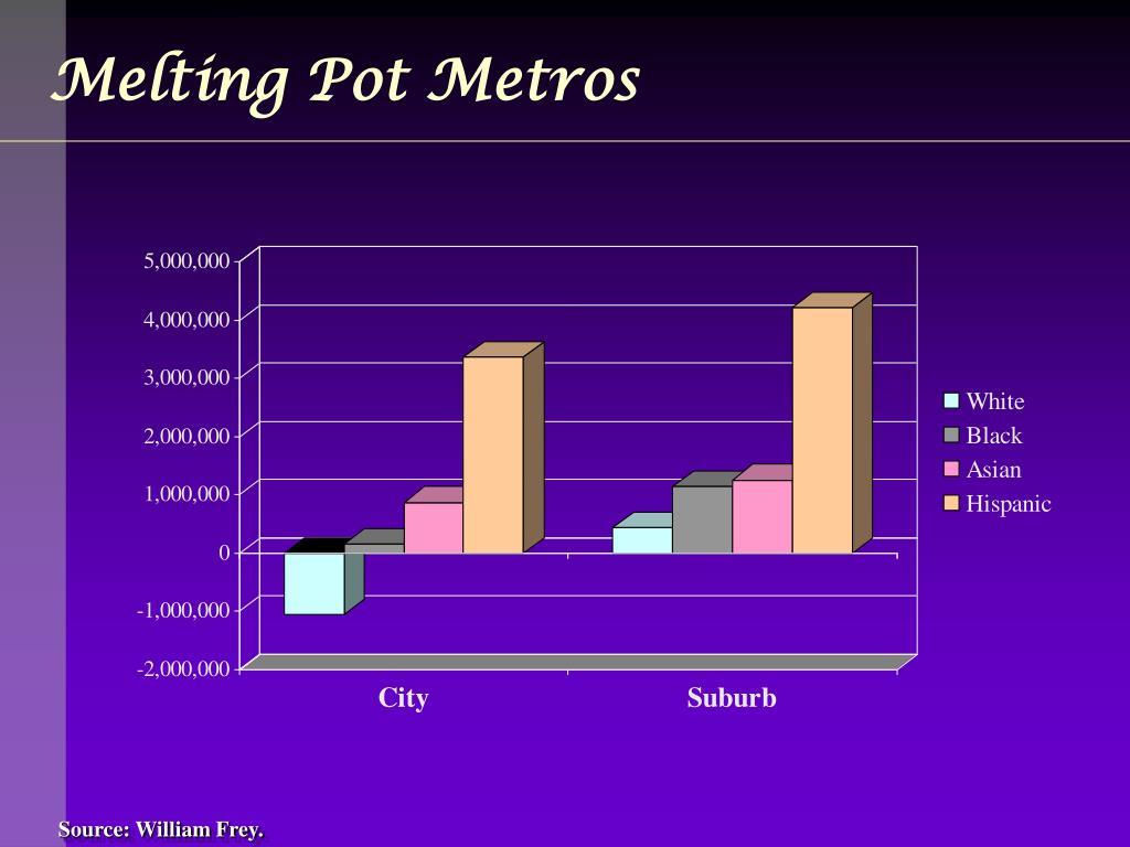 Melting Pot Metros