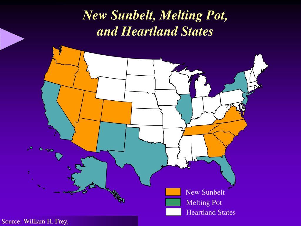 New Sunbelt, Melting Pot,