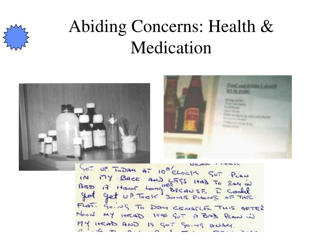 Abiding Concerns: Health & Medication