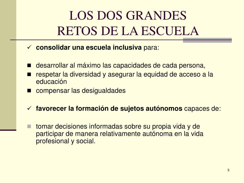 LOS DOS GRANDES