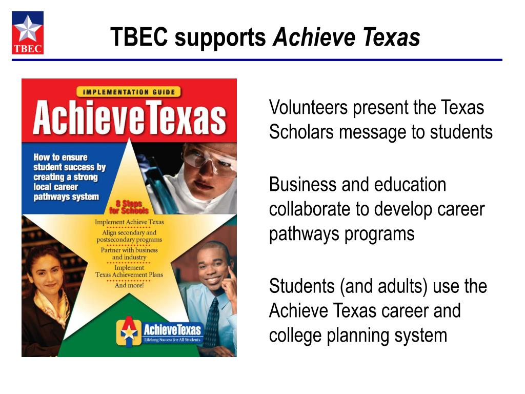 TBEC supports