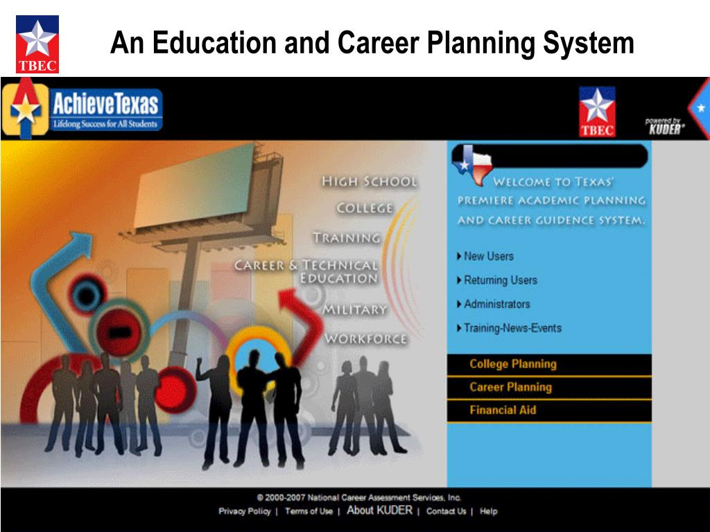 An Education and Career Planning System