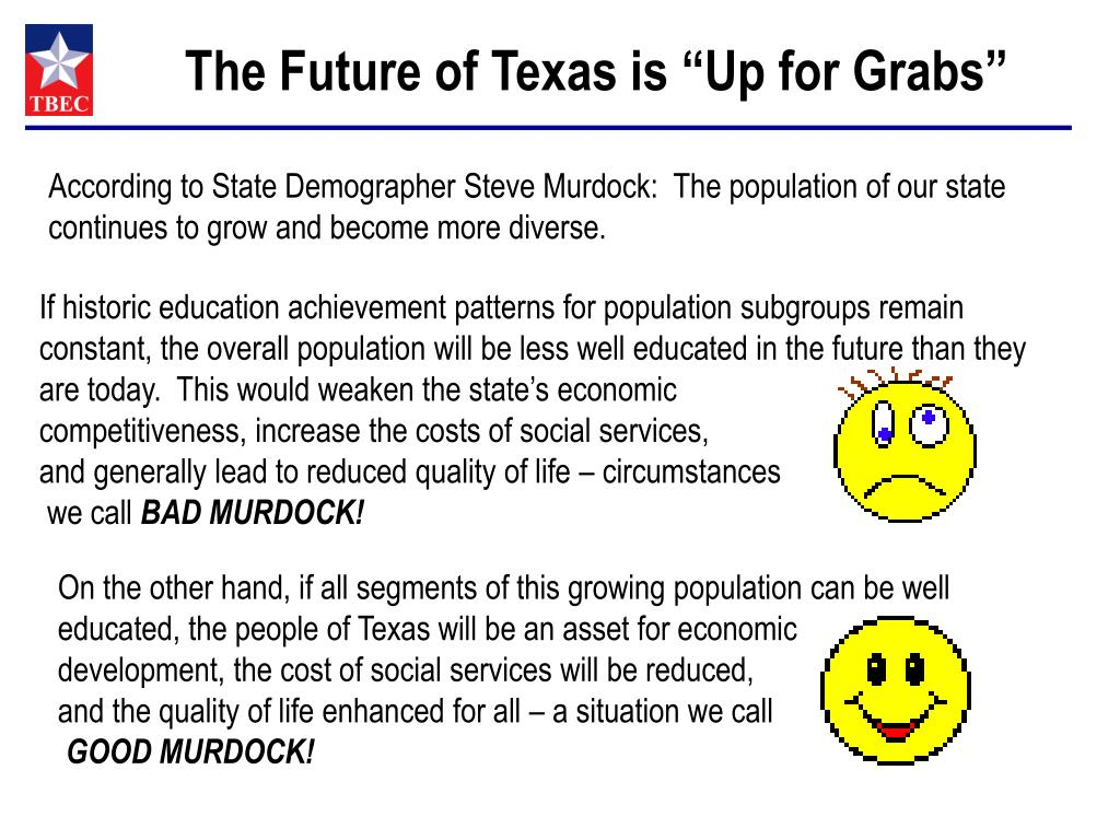 """The Future of Texas is """"Up for Grabs"""""""