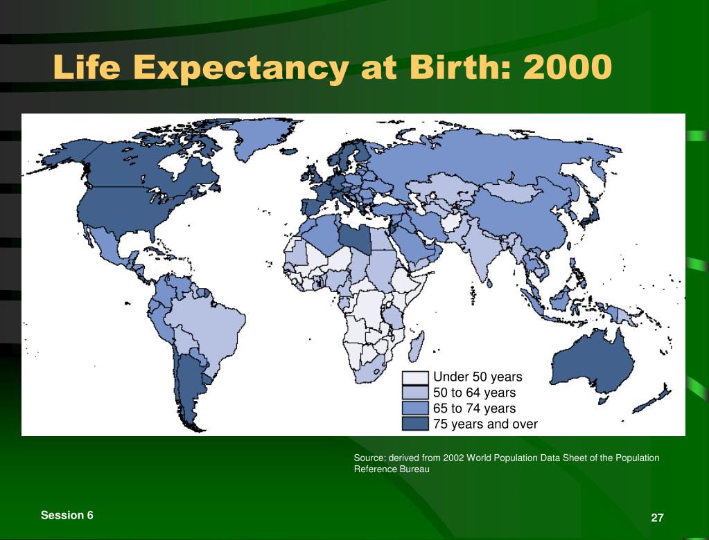 50 adult age expectancy jama life per report