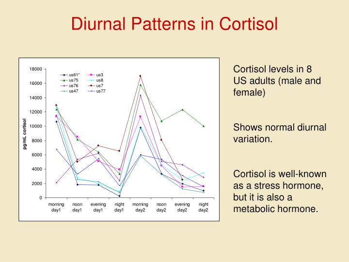 Diurnal Patterns in Cortisol