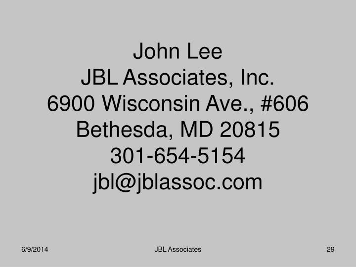 John Lee