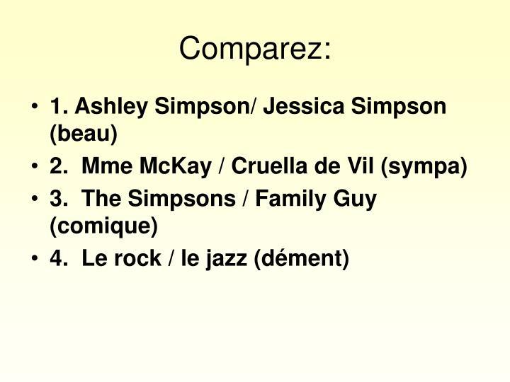 Comparez: