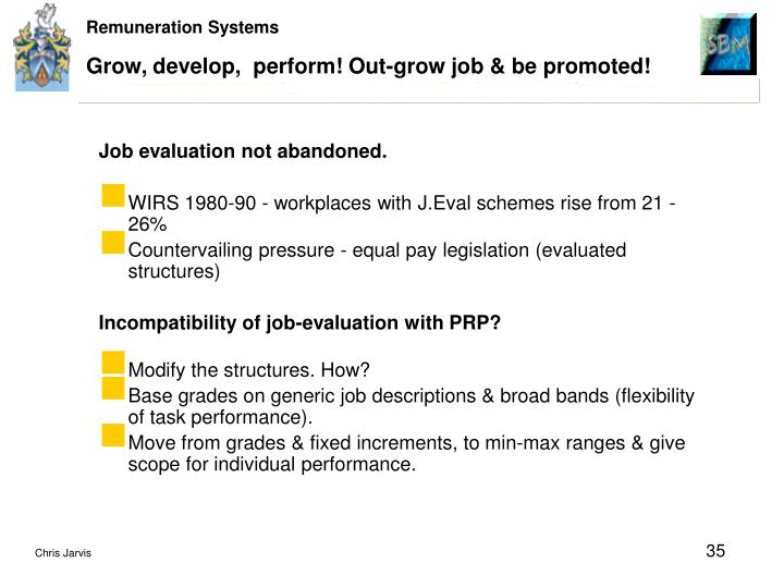Grow, develop,  perform! Out-grow job & be promoted!