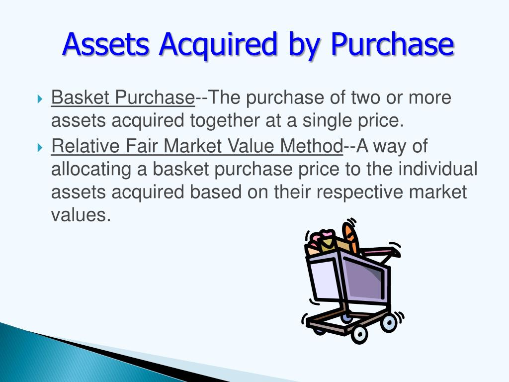 Assets Acquired by Purchase