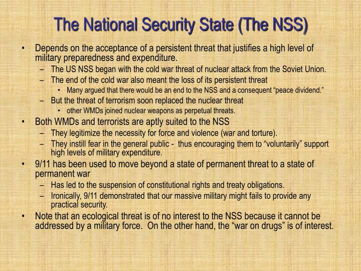 The National Security State (The NSS)