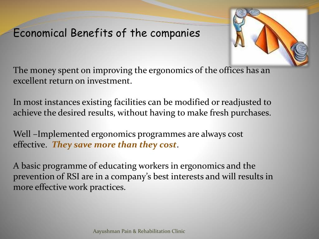 Economical Benefits of the companies