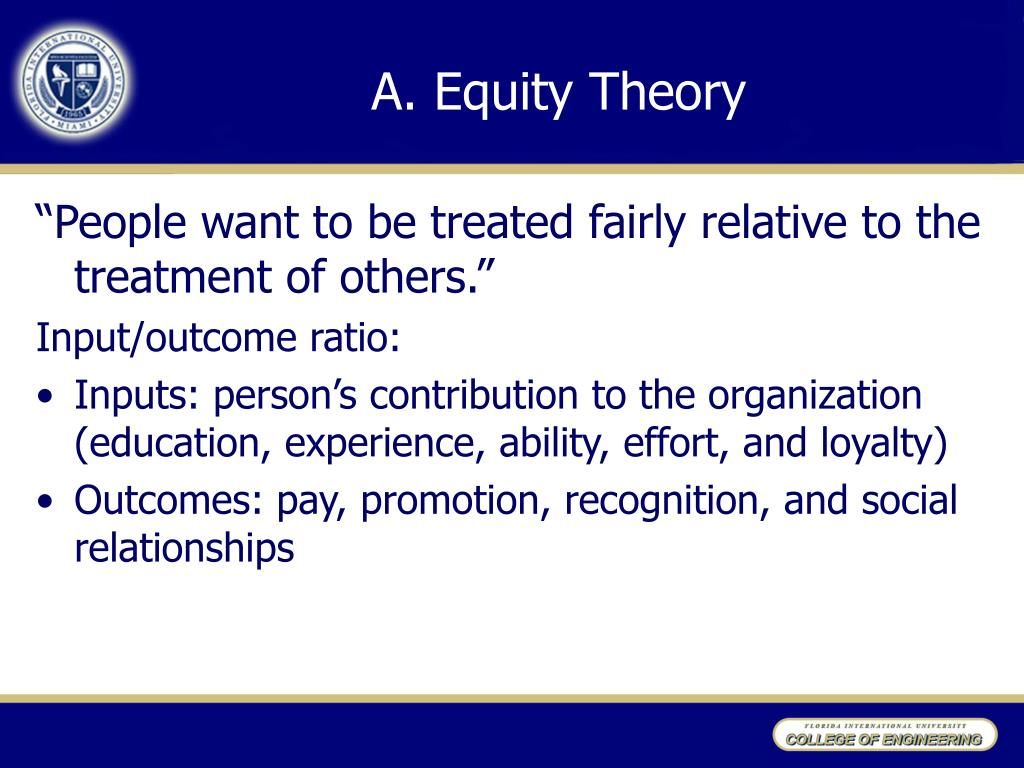 A.Equity Theory