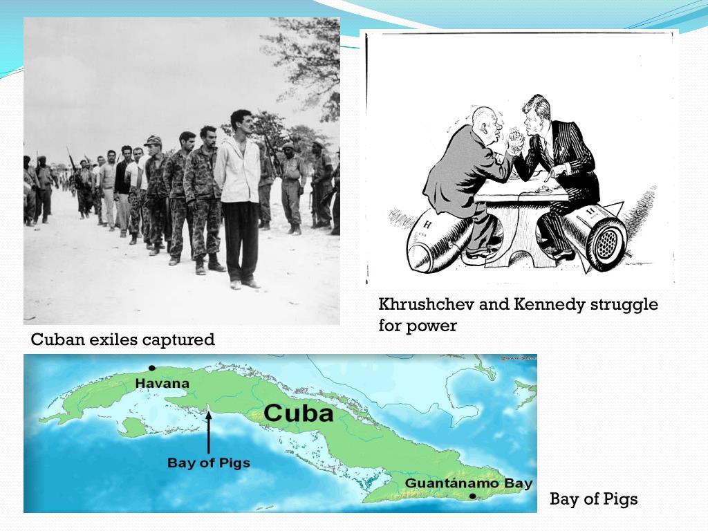 Khrushchev and Kennedy struggle for power