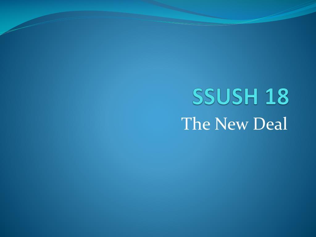 SSUSH 18